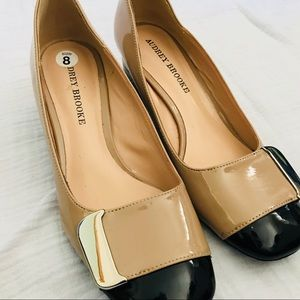 Audrey Brooke patent leather shoes size 8